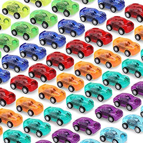 Pull Back Cars,48PCS Mini Push a...