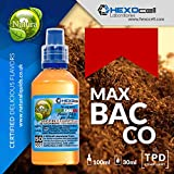 E LIQUID PARA VAPEAR - 30ml Maxbacco (Rojos Marlboro Cortos) Shake and Vape E Liquido para Cigarrillo Electronico, Shake n Vape Eliquido sin Nicotina