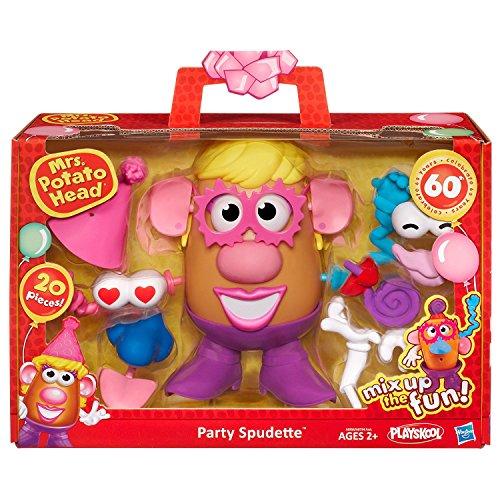 Playskool Mrs. Potato Head Party Spudette Figure by Mr Potato Head (Und Potato Mrs. Head Mr.)