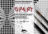 Op Art: Postcard Colouring Book / Postkarten - Malbuch (Postcard Colouring Books)