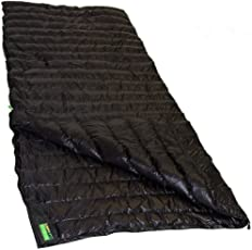 Lowland Outdoor - Daunen Deckenschlafsack - Ultra Compact Blanket - 210x80 cm - Nylon 8°C - 445 g
