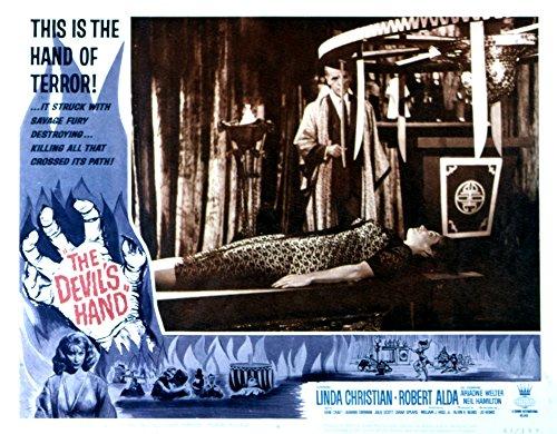 Hand Movie Poster (The Devil's Hand Movie Poster Masterprint (71,12 x 55,88 cm))
