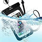 EOTW Waterproof Case IPX8 Certified , Universal Waterproof Bag Dry Bag with Parachute Lanyard for smartphones up to 6 inch ,perfect for swimming ,wakeskating ,fishing,surfing and all of water sport .
