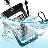 EOTW TPU Funda Impermeable IPX8 Universal para deportes acuaticos para Iphone 6/6s Plus,Samsung S6/Edge/S5/S4 hasta 6 pulgadas.
