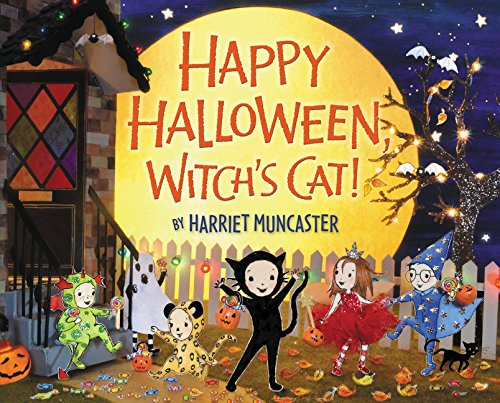 Happy Halloween, Witch's Cat! por Harriet Muncaster