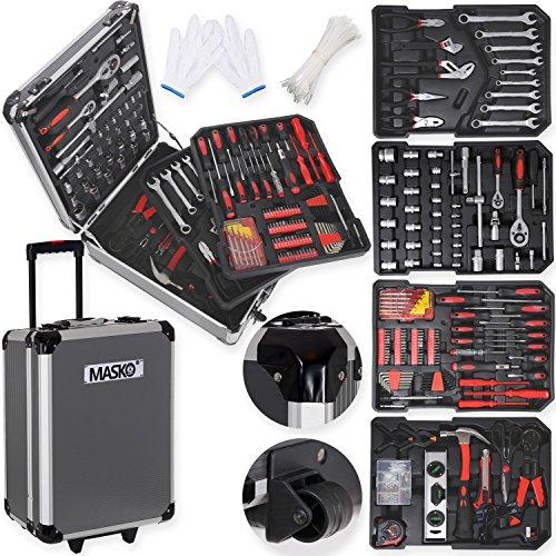 Masko 725 Werkzeugkoffer Werkzeugkasten...
