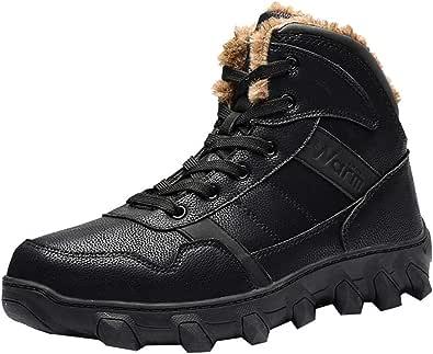 Oyedens Stivaletti da Uomo Moda Scarpe da Moto Scarpe Antinfortunistica Uomo Scarpe da Corsa Uomo Scarpe da Ginnastica Uomo Antiscivolo Casual Lace-Up Shoes Sneakers 2019 Nuovo Moda