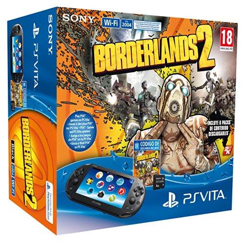 PlayStation Vita – Consola Wi-Fi + Borderlands 2 + 4 GB MC