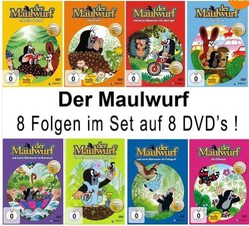 Der Maulwurf (8 DVDs)