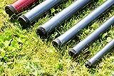 DEKOVALENZ - GFK-Teleskopstange verschiedene Längen, Fahnenmast für Balifahnen, Länge:3 Meter Test