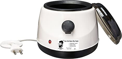 Beardcare professional paris wax heater with Non-Stick Coating & Automatic Temperature Controler for Beans/Brazilian wax (Multicolor)
