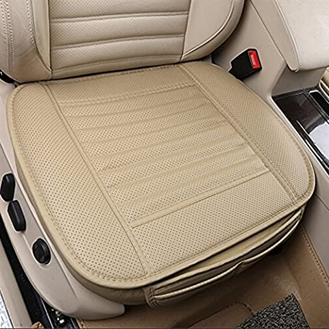 Car Seat Cushions Breathable Massage Car Seat Covers with PU Leather Bamboo Charcoal Car Cushion