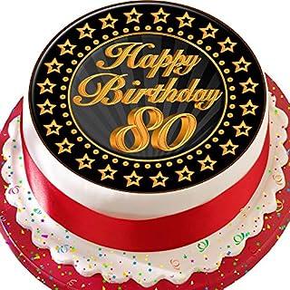 80 Geburtstag Deko Kuchen Heimwerker Marktde