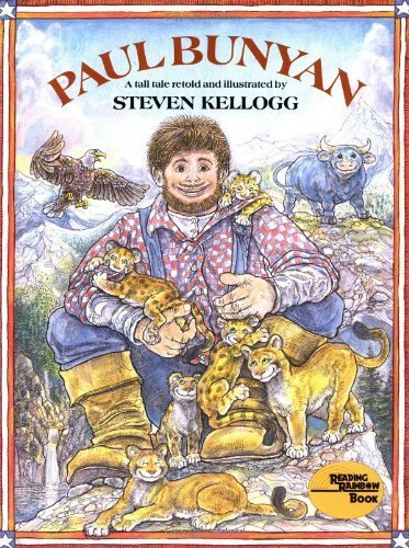 Paul Bunyan (Reading rainbow book) by Kellogg, Steven (2004) Paperback
