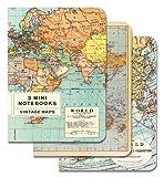 Vintage Maps Mini Notebook