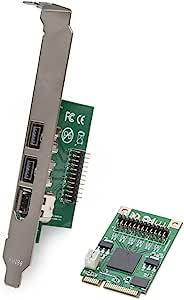 Io Crest Si Mpe30018 2 Port 1394b Fire Wire 800 Und 1 Computer Zubehör