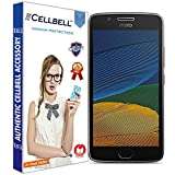 #10: CELLBELL® Tempered Glass Screen Protector For Motorola Moto G5 (5.0 Inch) With FREE Installation Kit