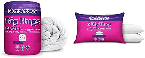 Slumberdown Big Hugs Duvet, White