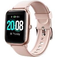 LIFEBEE Smartwatch Orologio Fitness Tracker Uomo Donna, Bluetooth Smart Watch Cardiofrequenzimetro da Polso Schermo…