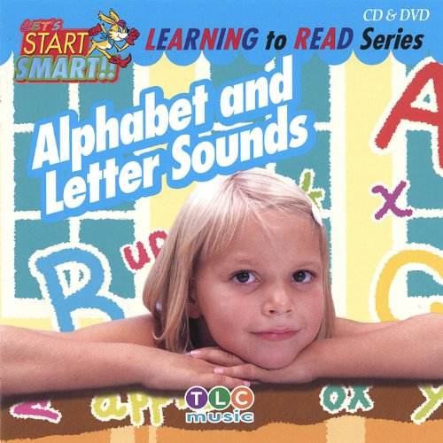 Alphabet And Letter Sounds Cd & Dvd By Let's Start Smart