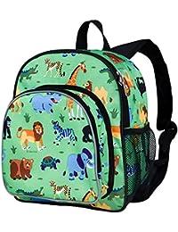 Wildkin Toddler Jungle Backpack, Multi-Colour