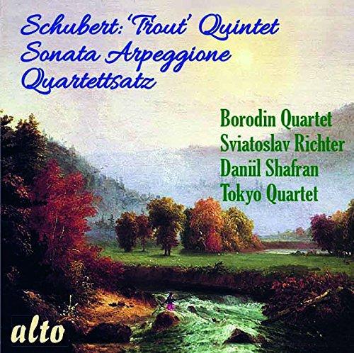 Schubert : Quintette La Truite - Sonata Arpeggione. Richter, Shafran, Gottlieb.