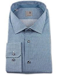 Seidensticker - Camisa formal - Floral - Clásico - para hombre