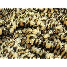 Minicraft bebé leopardo Fun Fur, marrón/beige, 150x 50cm