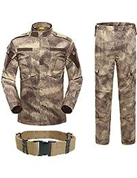 H Welt EU Military Tactical Herren Jagd Combat BDU Uniform-Shirt und Hose  mit Gürtel c4fc5090f5