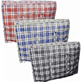 1 X EXTRA LARGE STRONG LAUNDRY STORAGE TOYS STORAGE REUSABLE BAGS ZIPPERS