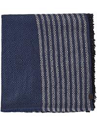 ESPRIT Herren Schal 106EA2Q008, Blau (Navy 400), One size
