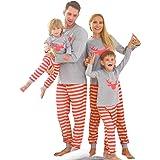 Zoerea - Pijama para niños, diseño de rayas rojas Para hombre ...