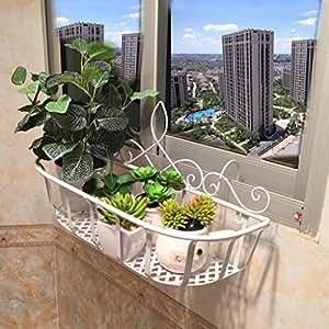 fzn eisen balkongel nder h ngen blumentopf rack innen wohnzimmer wandbehang blume rack topf. Black Bedroom Furniture Sets. Home Design Ideas
