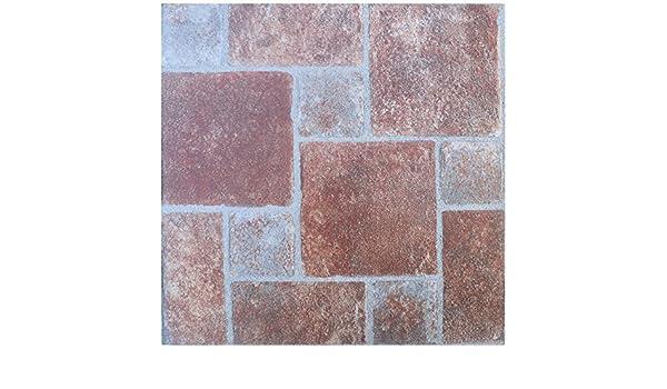Fußboden Aus Alten Ziegeln ~ Boden fliesen selbstklebend ziegel effekt fliesen vinyl bodenbelag