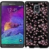 SilikonHülle für Samsung Galaxy Note 4 (N910) - Rosa Blüten by wamdesign