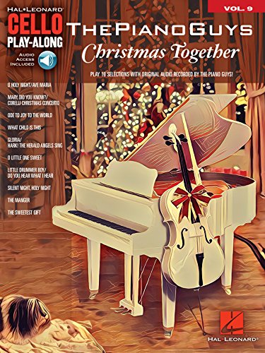 The Piano Guys - Christmas Together: Cello Play-Along Volume 9 (Hal Leonard Cello Play-Along) (English Edition) (Christliche Video-serie)