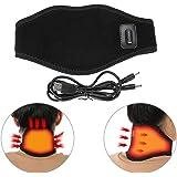 Elektrische Halsstütze, Nackenmassagegerät Beheizte Halsstütze mit einstellbarer Temperatur und USB-Kabel, ideal für verletzte oder wunde Hals
