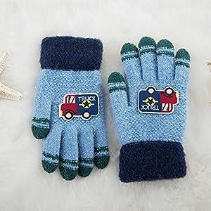 Unbekannt XIAOYAN Handschuhe Winter Kinder Handschuhe Handschuhe Cartoon Handschuhe 3-8 Jahre alt Bequem