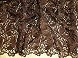 Zierrand Couture Brautschmuck Heavy Guipure-Spitze Stoff