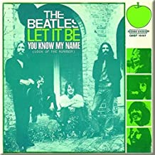 The Beatles Let It Be You Know My Name new Official 76mm x 76mm Fridge Magnet