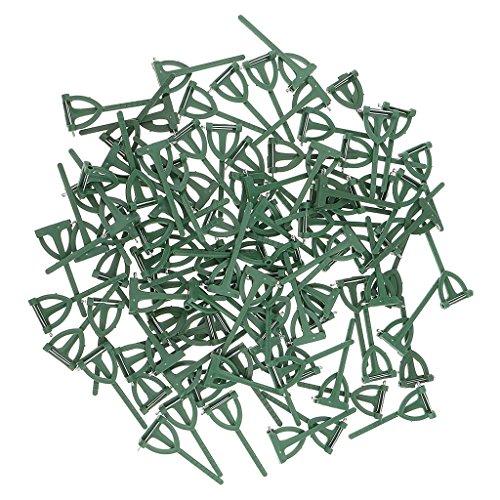 Sharplace 100x Broschennadeln Anstecknadeln Sicherheitsnadel Schmucknadel, DIY Gastanstecker