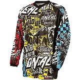O'Neal 2015 Motocross Jersey Infantil/ MTB Jersey - Element Wild - Negro blanco - Multicolor, M