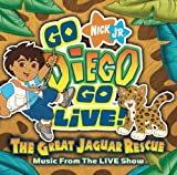 Go Diego Go Live the Great Jaguar Rescue by Go Diego Go! (2007) Audio CD