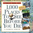 1,000 Places to See Before You Die 2014 Page-A-Day Calendar: 365 Days of Travel