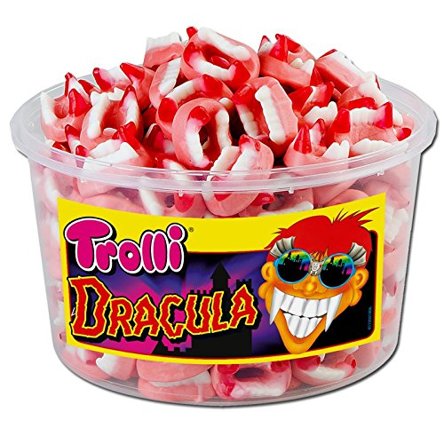 (Trolli Dracula Menge:1050g Box)