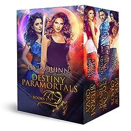 Destiny Paramortals Boxed Set (Books 1-3): A dragon shifter saga by [Quinn, Livia]