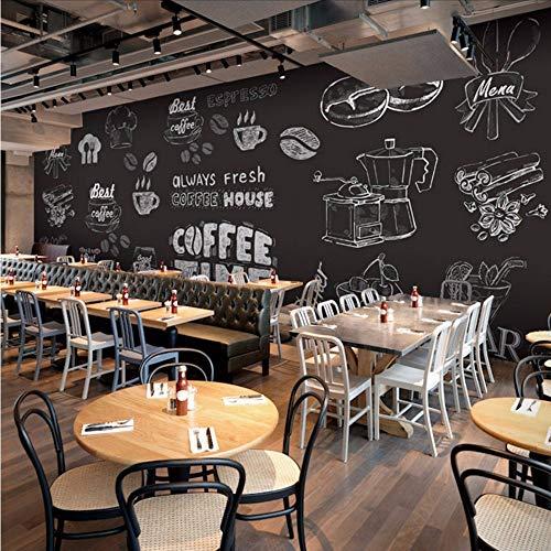 Natur-frühstück-bar (CZHCFF Größe Foto Personalisierte Glas Tafel Tapete Restaurant Bar Cafe Ktv Lebensmittelgeschäft Hintergrund Frühstück Tapete Wandbild)