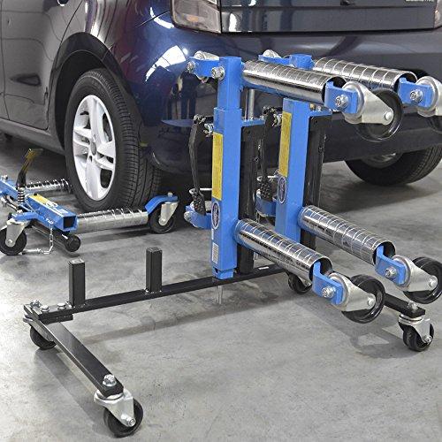 Aufbewahrungswagen für hydraulische Rangierhilfen