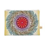 KESS CMY 12,5x 21,6famenxt'coriandoli Pois Mandala' Tutto borsa–Multicolor astratto