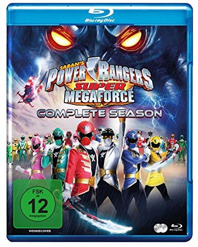 Power Rangers - Super Megaforce - Die komplette Serie [Blu-ray] (Megaforce Blau Ranger Power)
